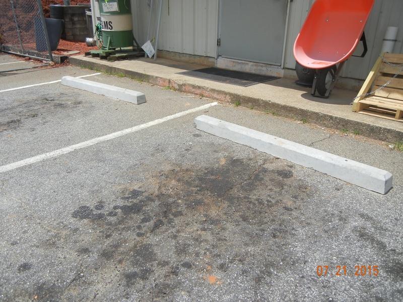 Parking Bumpers- Concrete