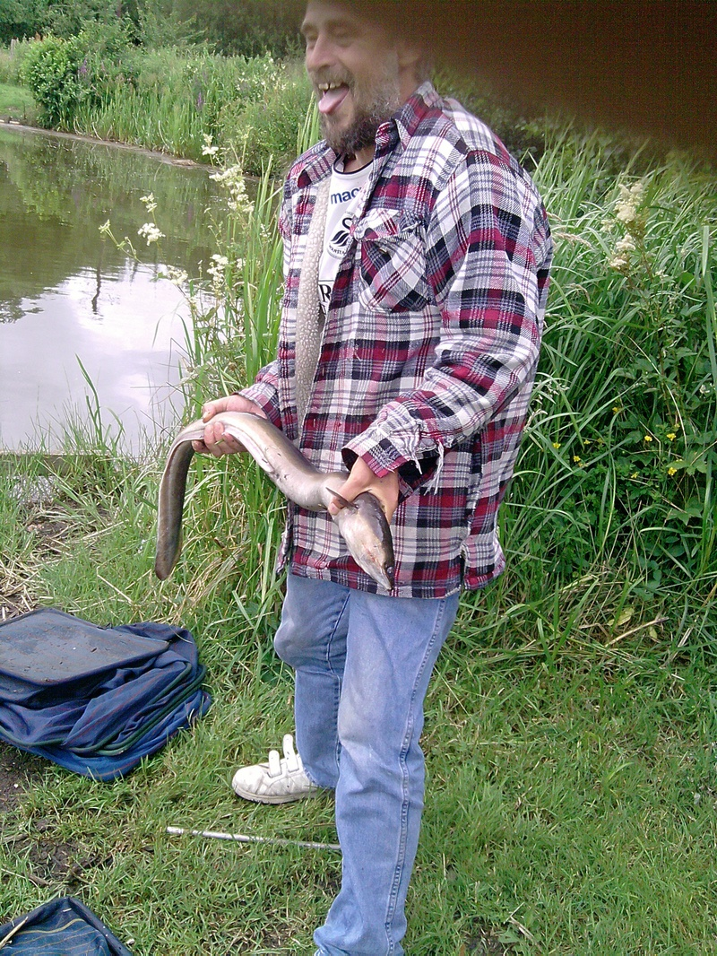 Keiths New Canal Eel Friend.