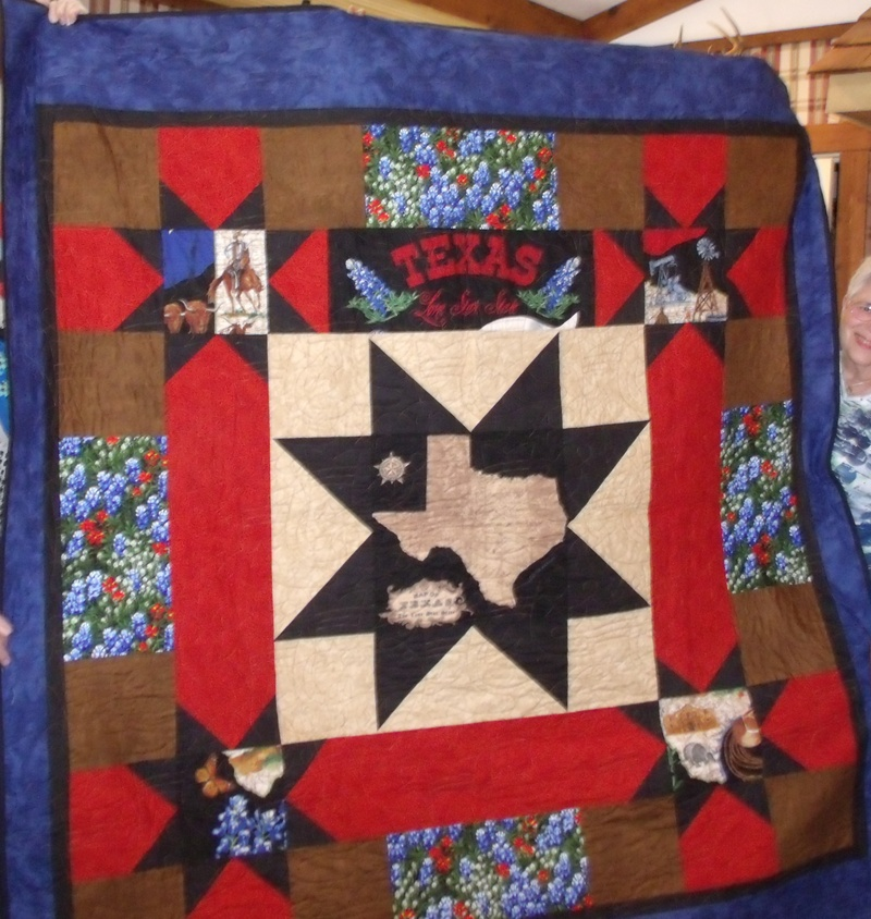 Texas Pride? 2015 Quilt Raffle Prize.