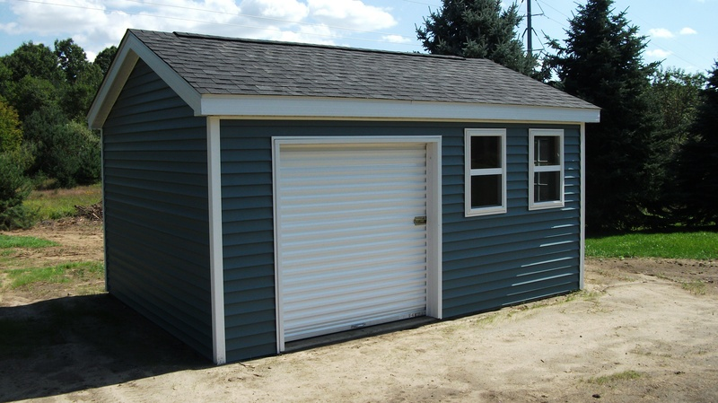 Sheds and pole barns usa discount lumber inc oxford mi for Steel log siding prices