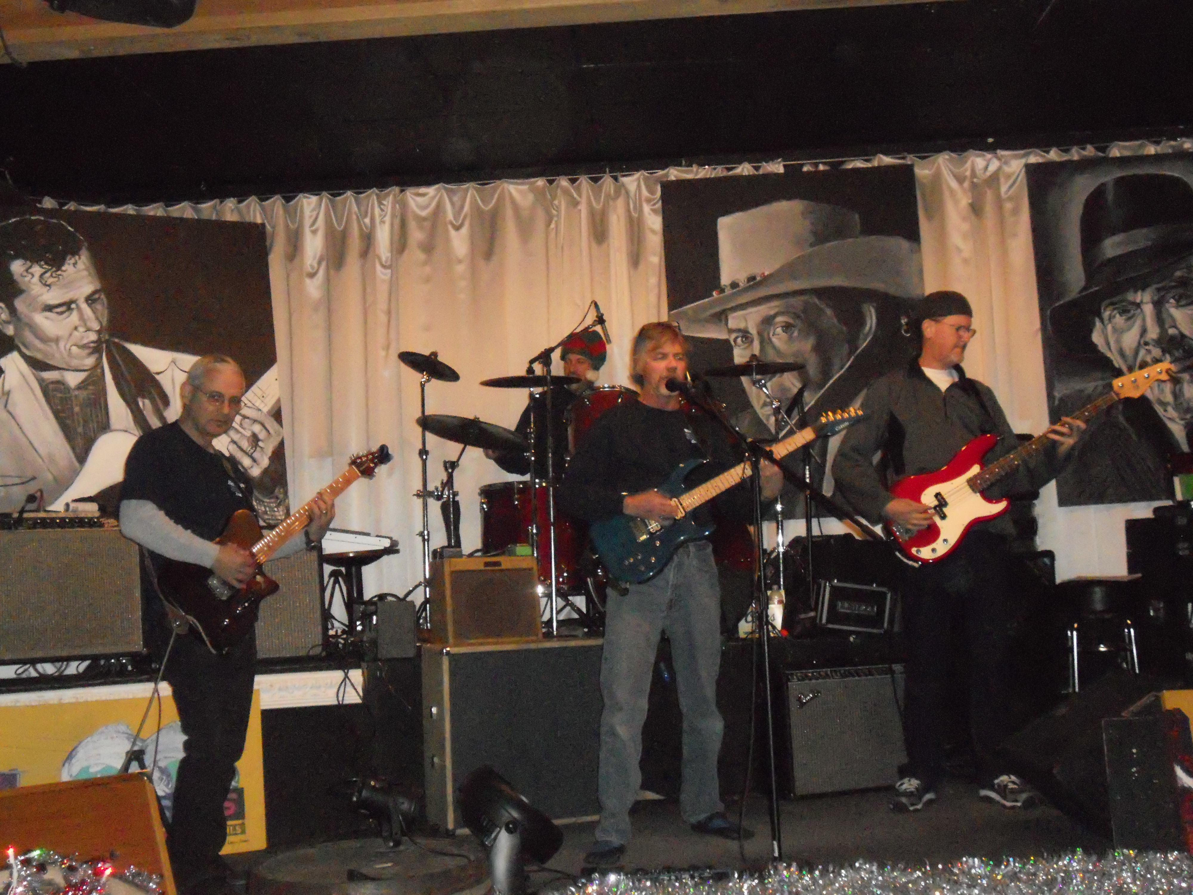 The Kern River Blues Society Jam  (KRBS) 12/17