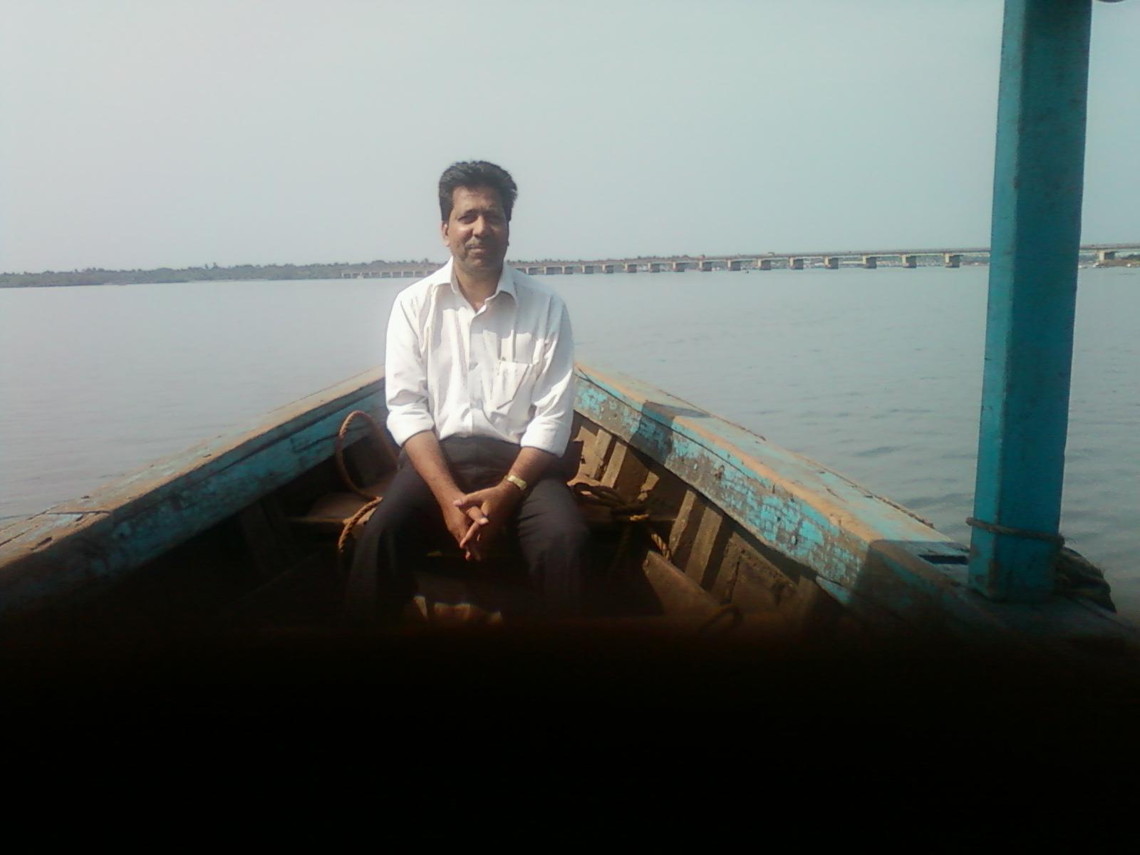 Myself in Honnavar, 2013