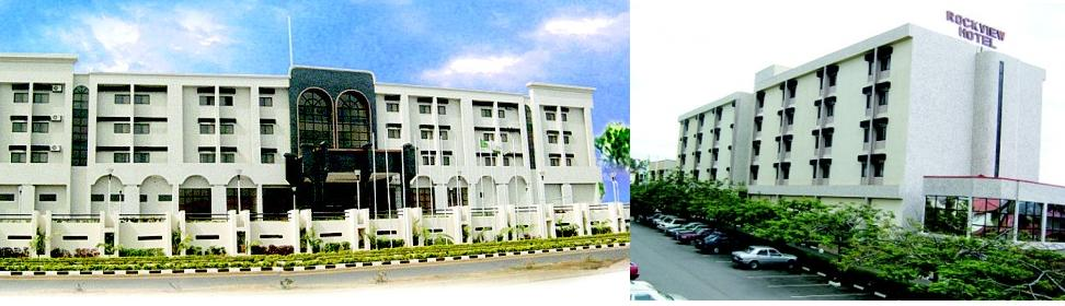 DESCRIPTION: 2 wings of 4 star hotel. Abuja, Nigeria. High Brow Area.
