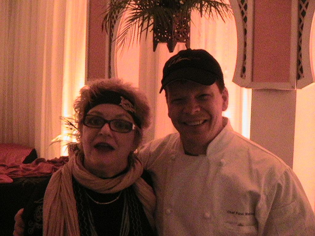 Paul Wahlberg & Auntie Moon
