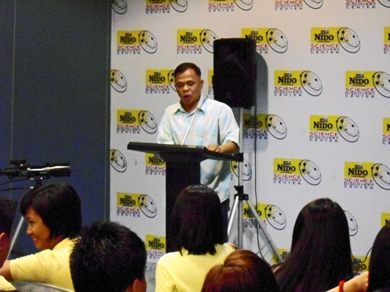 Hernan M. Dizon, giving information about the membership of PAS.