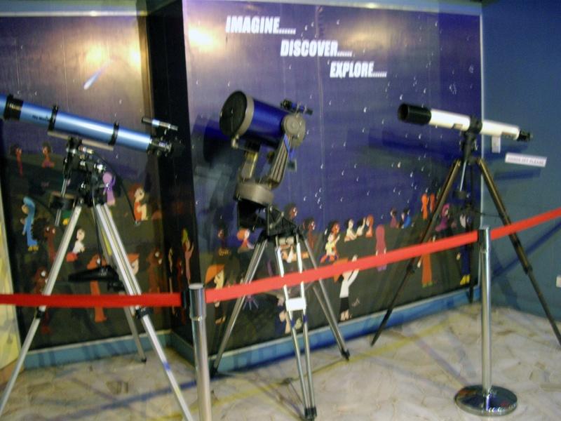 National Museum Planetarium Telescopes