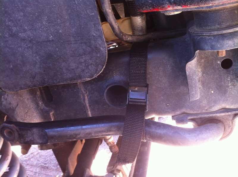 Tacoed my sway bar end links