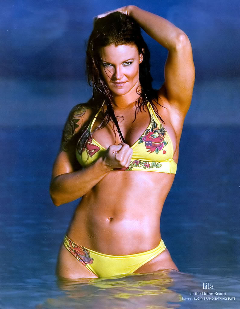 Lita boobs and pussy tell more