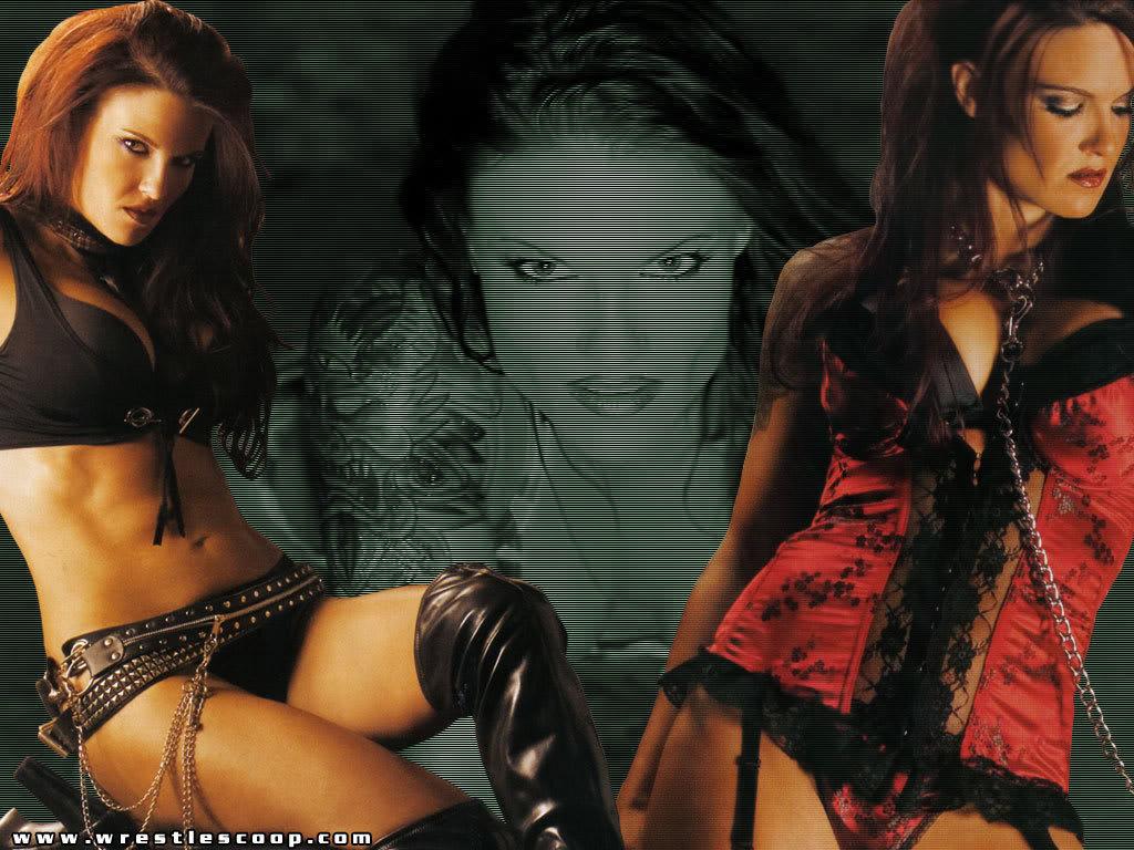 WWE Diva Lita Hot