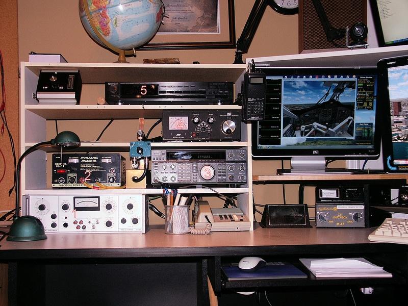 VE9BGC Equipment on left
