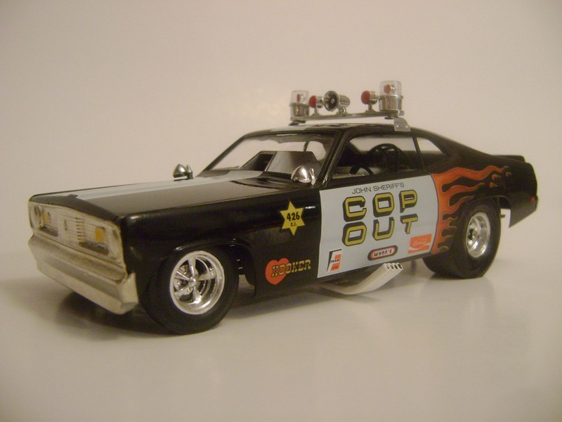 Cop Out Duster funny car