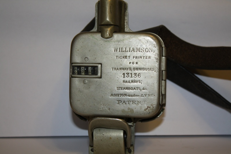 williamson ticket printer 13136