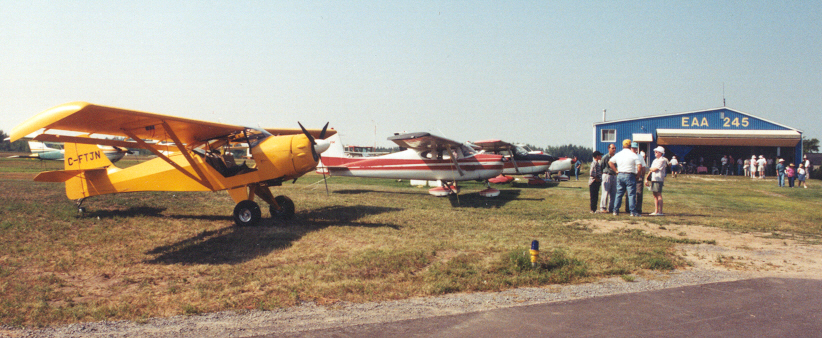 At the EAA 245 Fly-In 1997