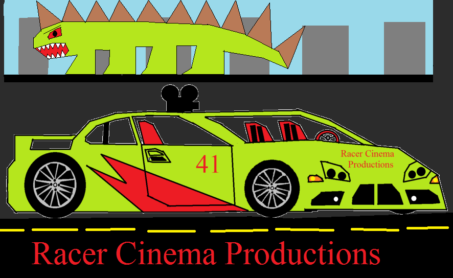 Racer Cinema Productions logo (2013-2016)