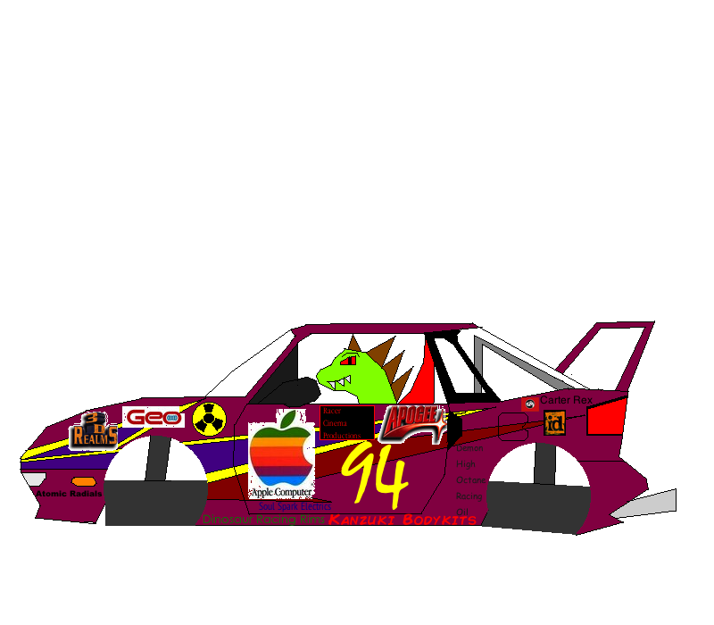 New Racer Cinema Productions car (Original version, Flying)