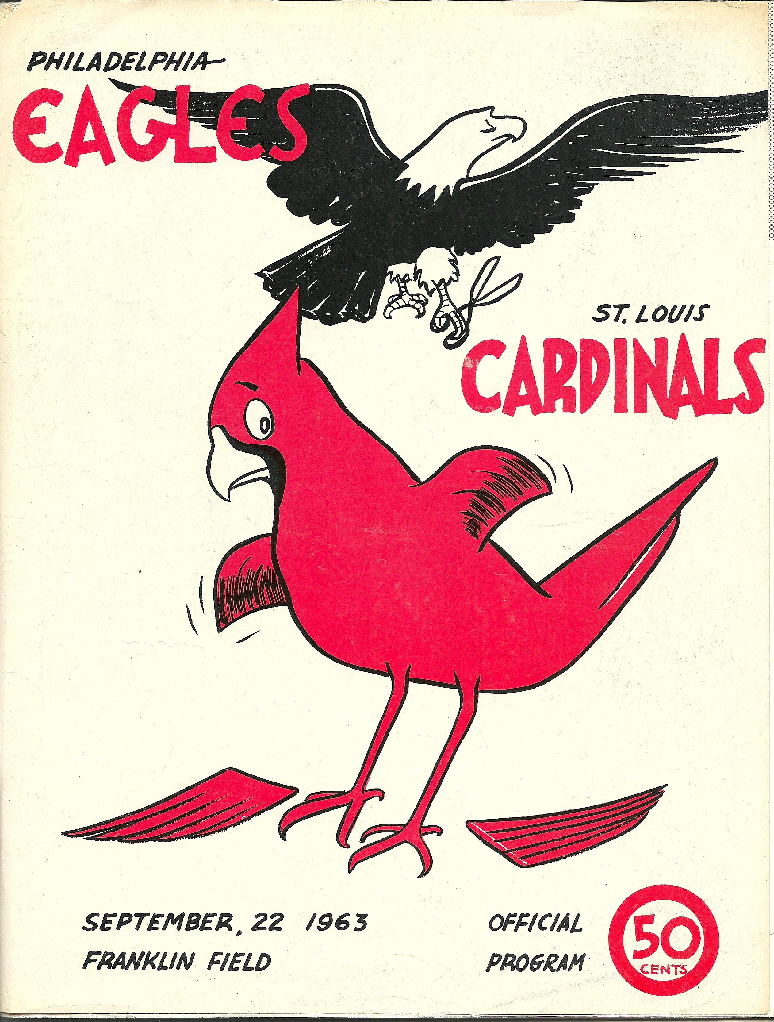 1963 Philadelphia Eagles vs. St. Louis Cardinals