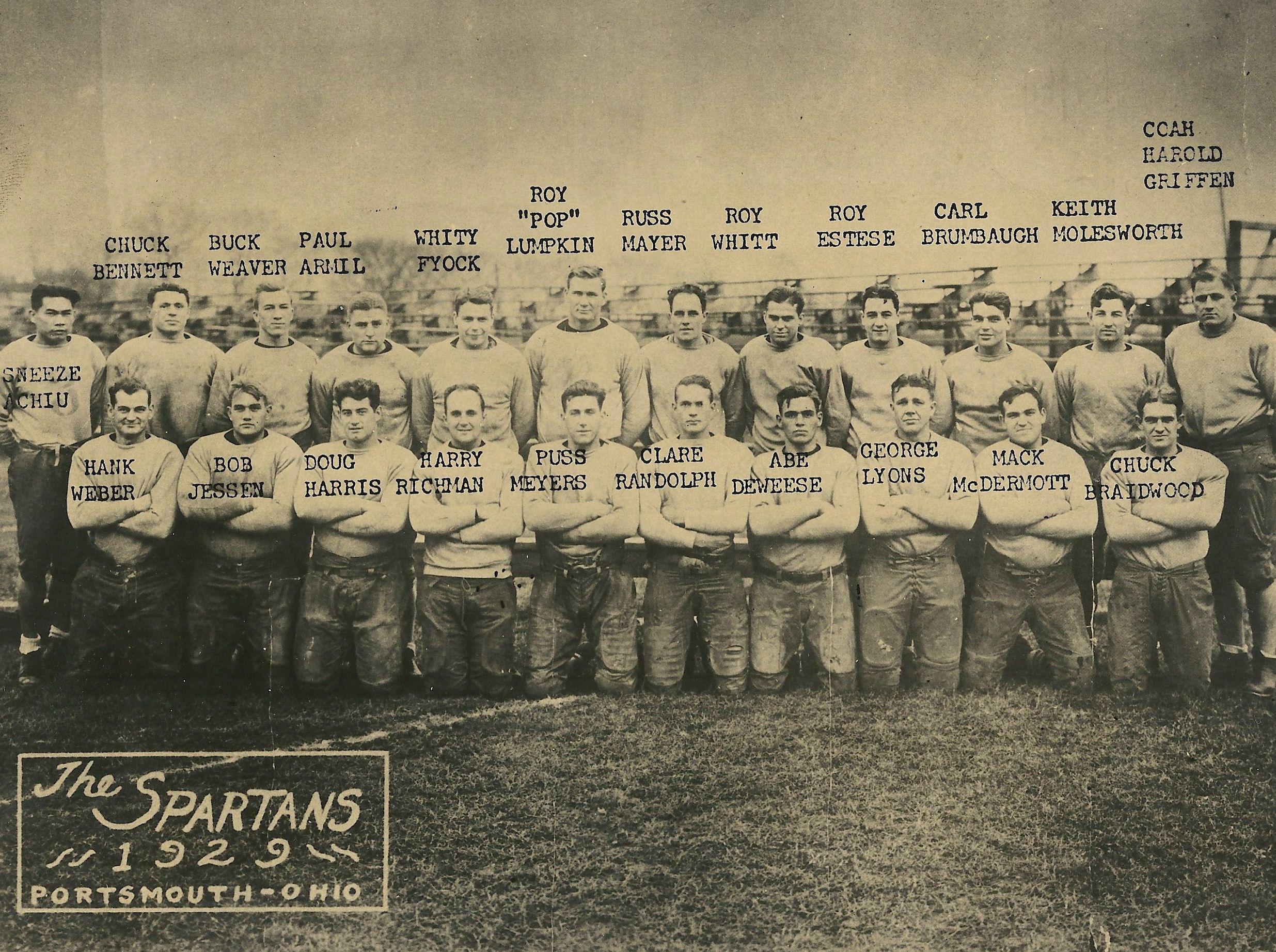 1929 Portsmouth Spartans