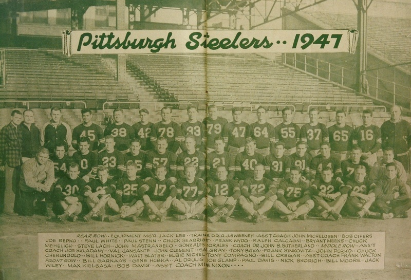 1947 Pittsburgh Steelers