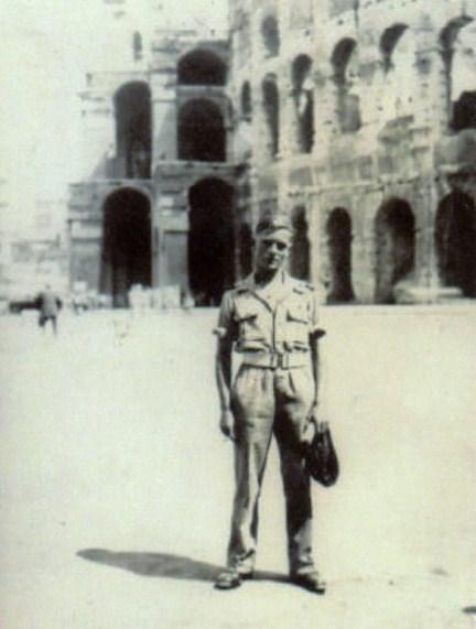 Rome, Coliseum 1945