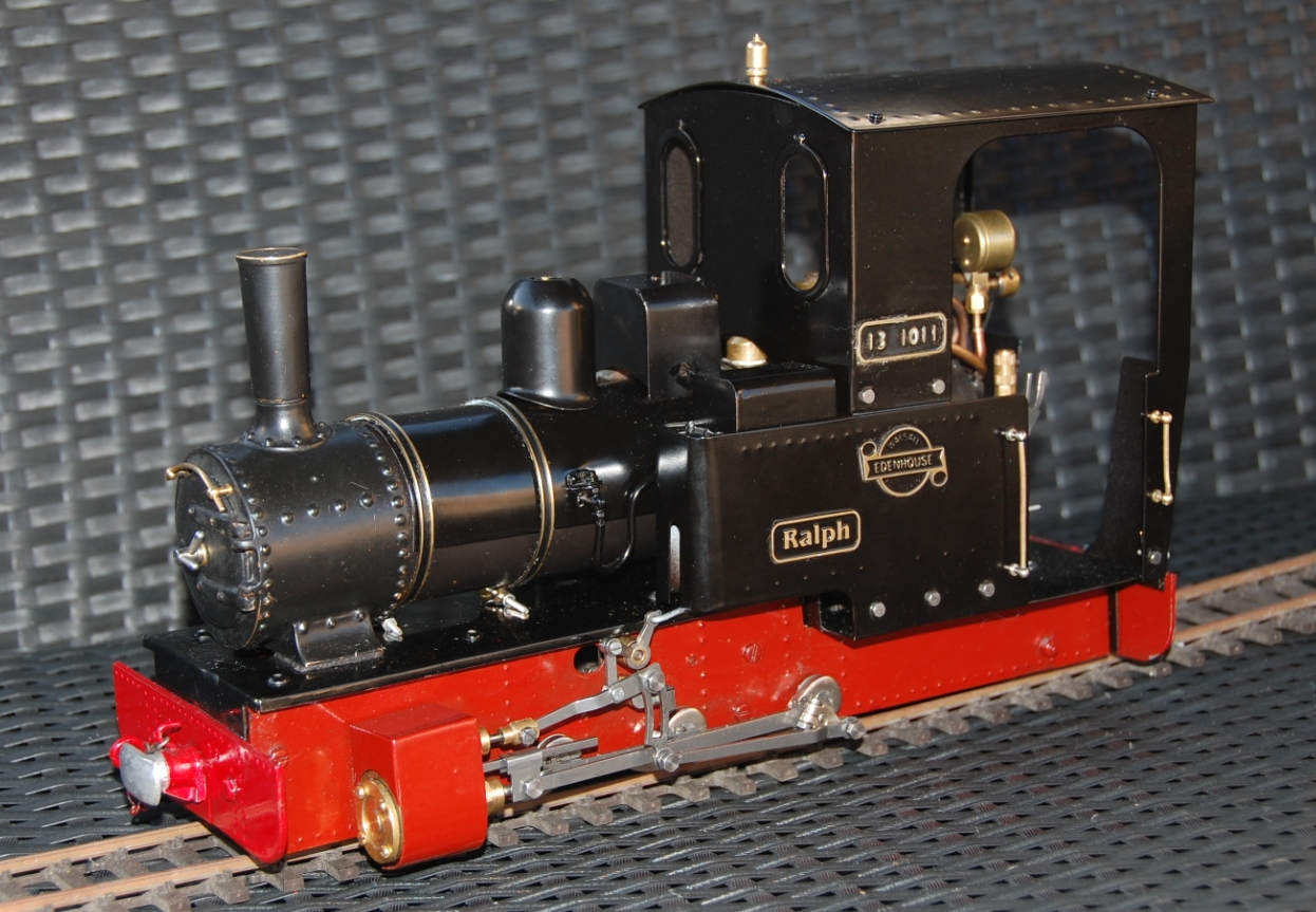 Edenhouse 'Ralph' coal fired loco