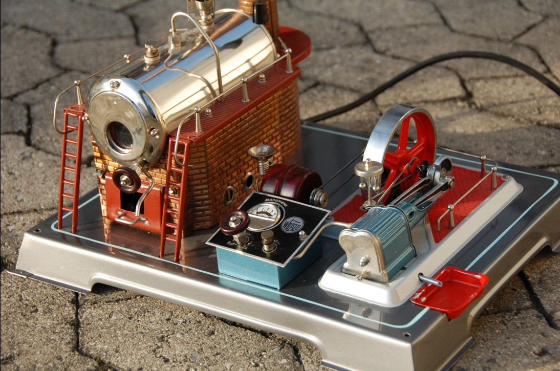 D24 El Model Steam Engines Model Dampmaskiner