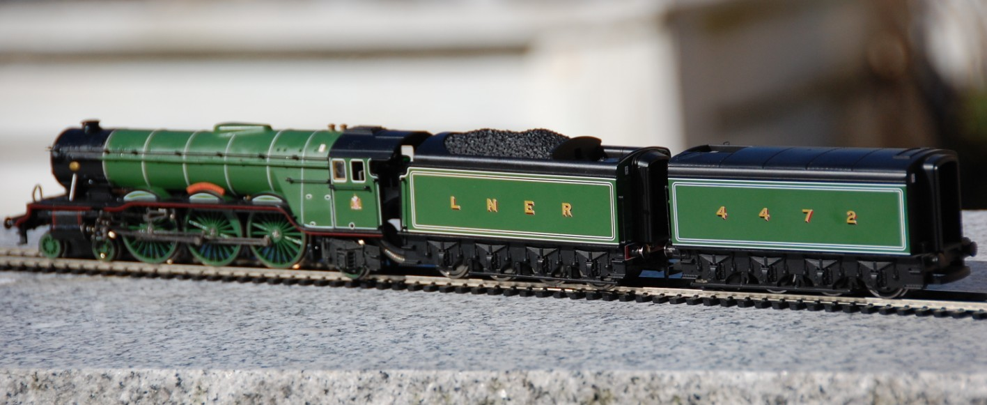 Hornby Flying Scotsman Live steam - Model Steam engines