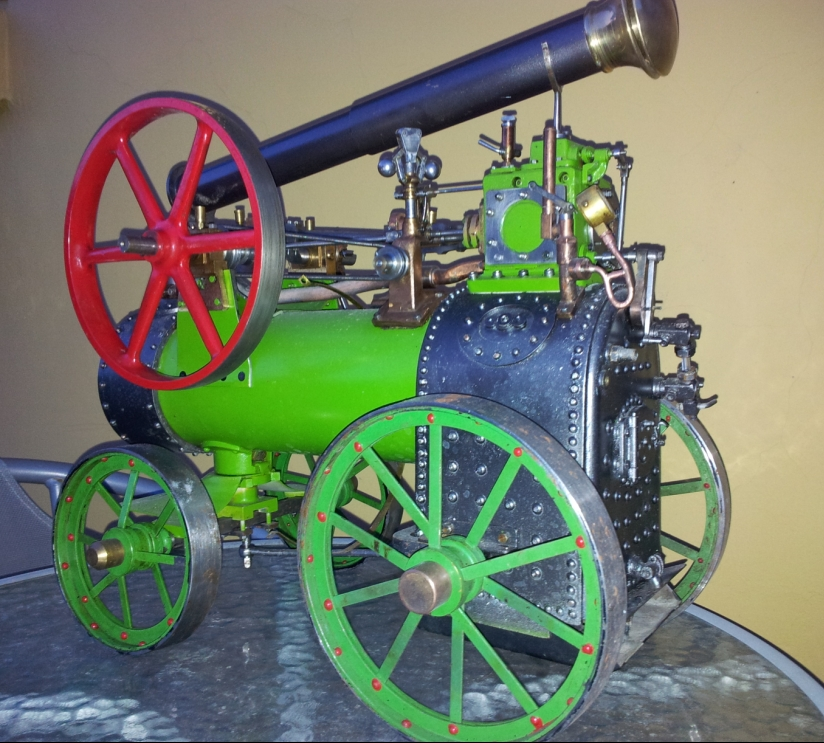 "Marshall portable engine 1½"" scale"