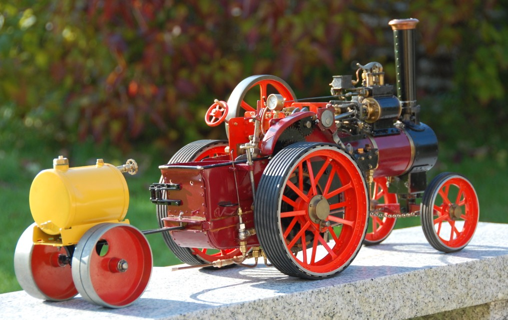 "'Minnie' traction Engine 1"" Scale"