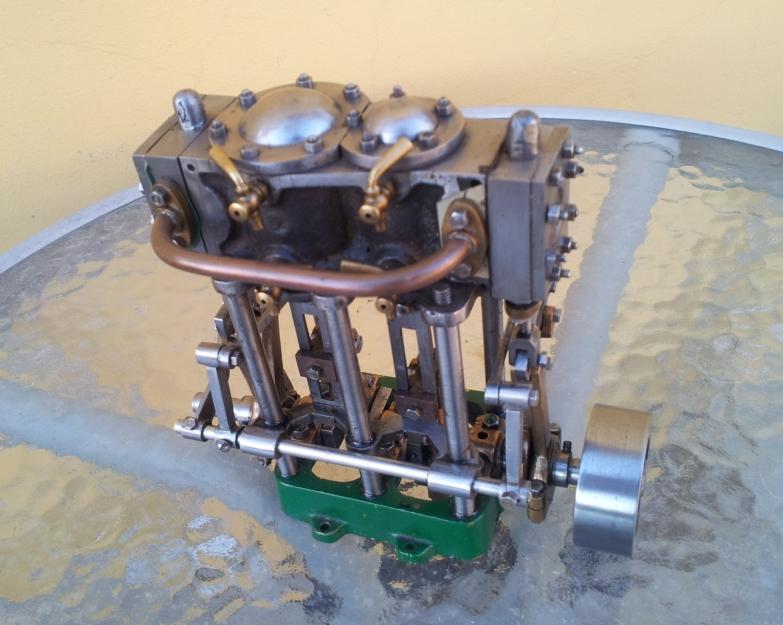 Stuart Double expansion marine engine