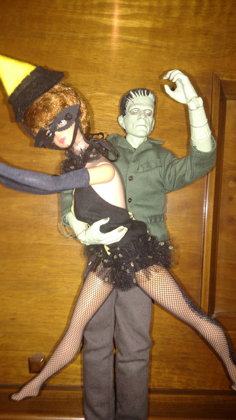 Barbie Meets Frankenstein !!!