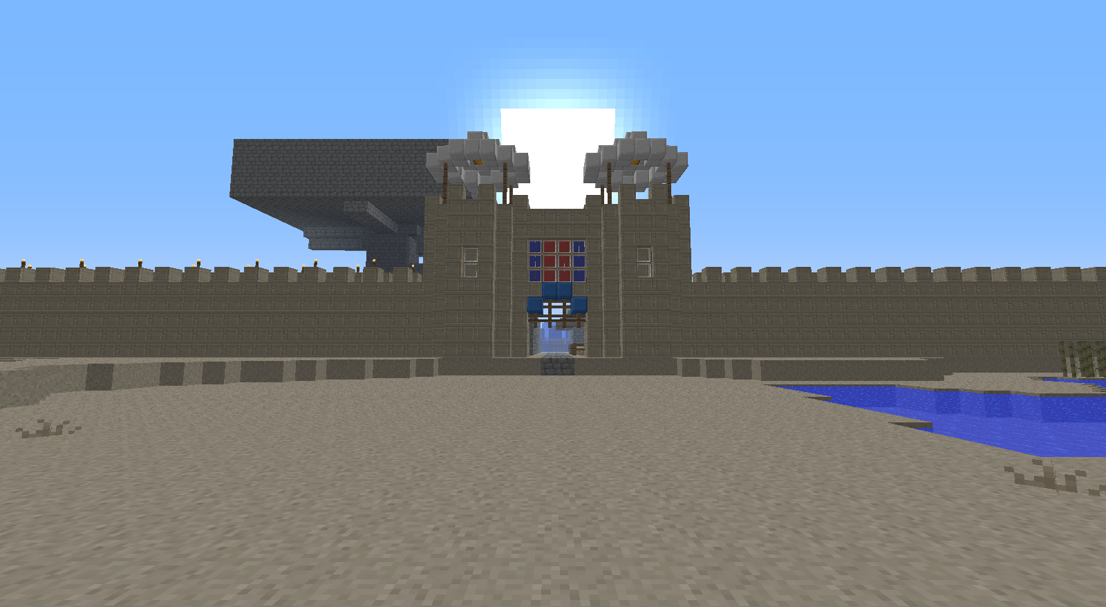 Ender_Goth's City Entrance