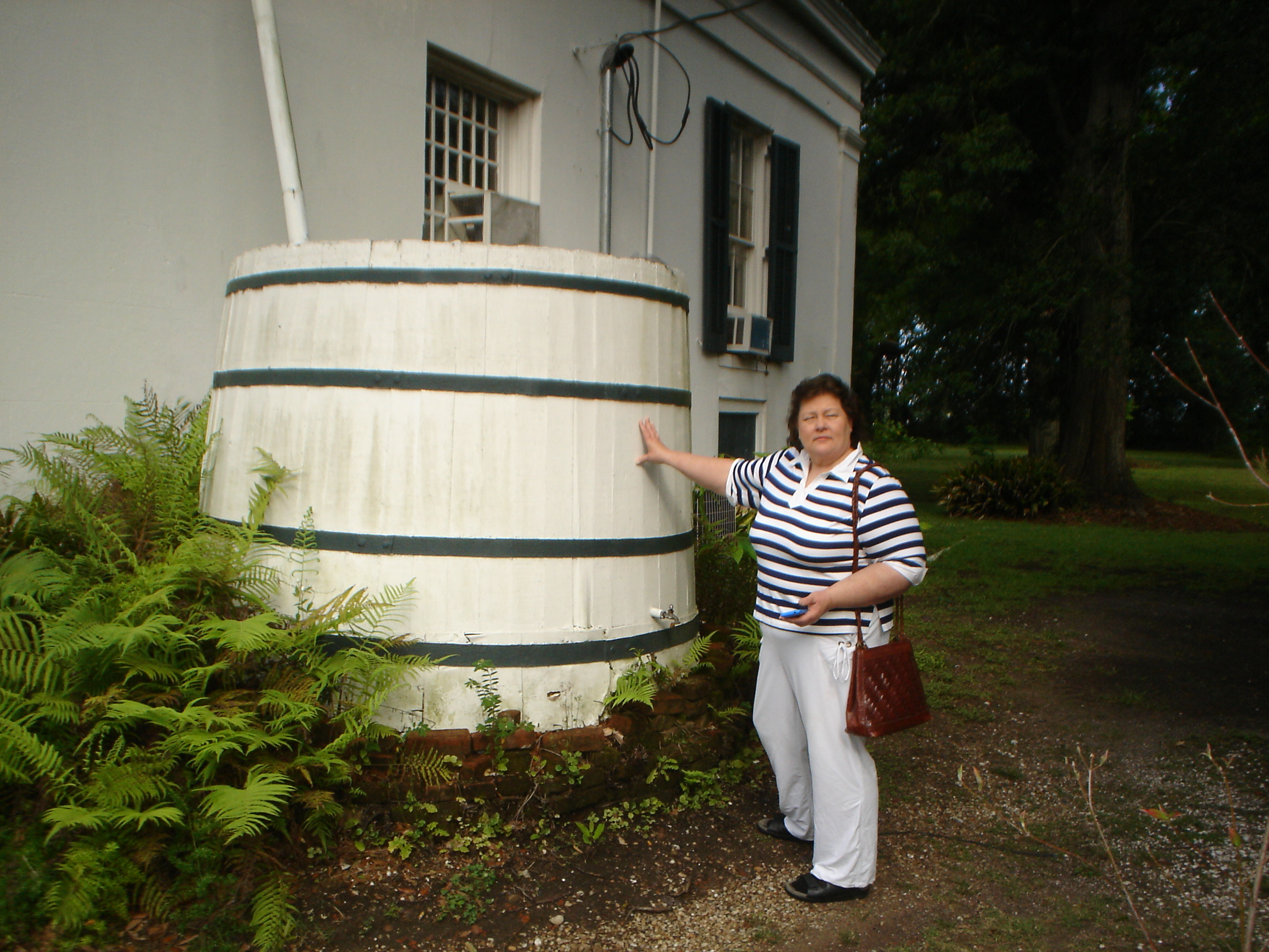 Look at this giant water barrel!