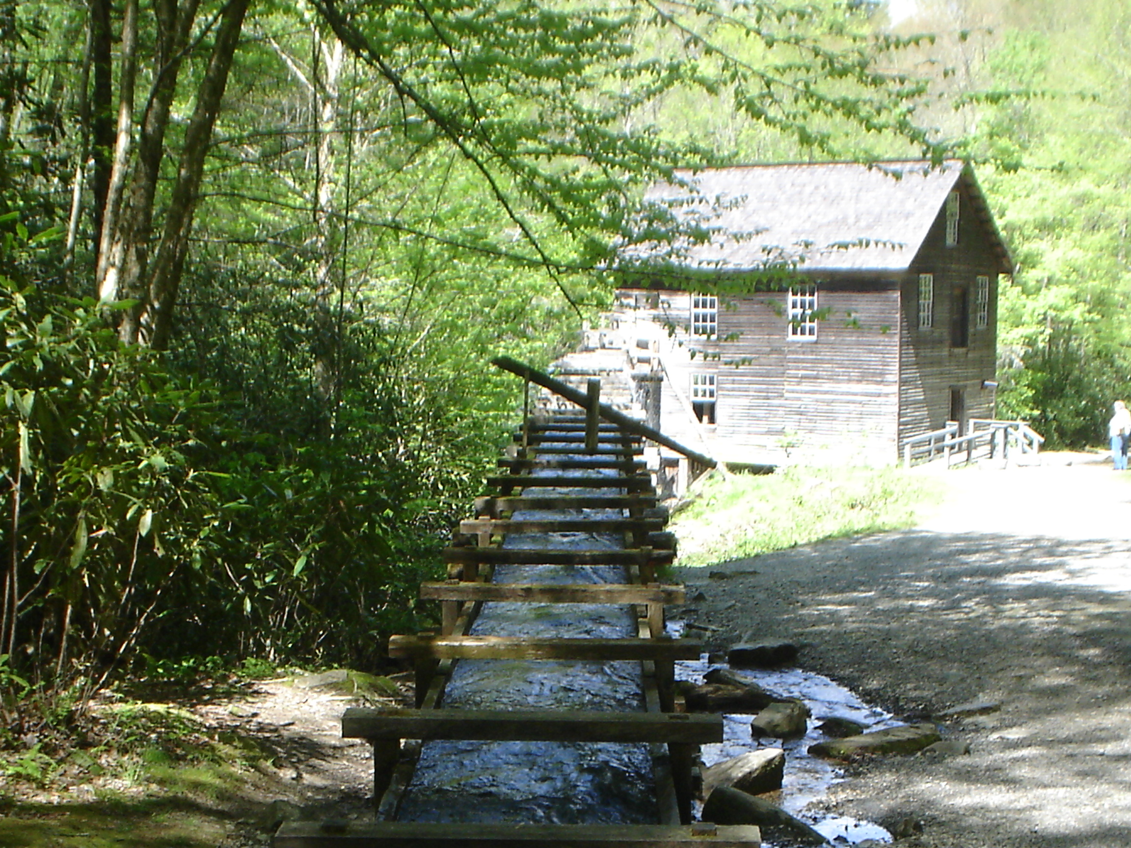 Old Grist Mill in Tennessee