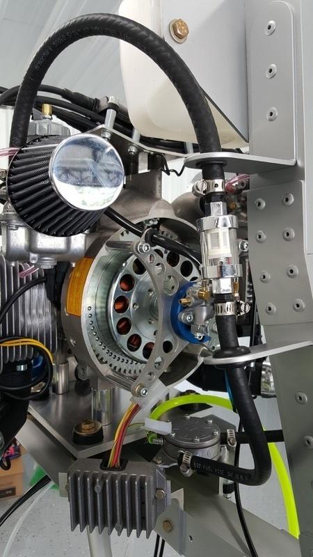 Oil Reservoir bracket & Fuel line Management