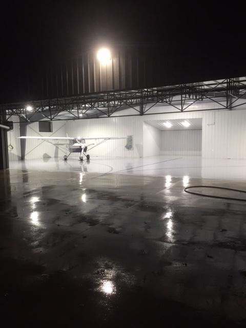New Hanger - 35°25'N 81°15'W