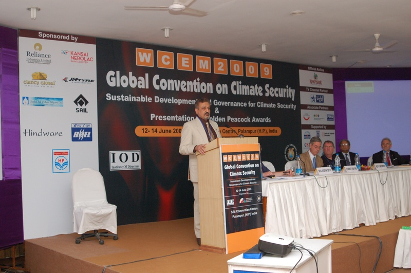 Global Climate Security Convention, 2009