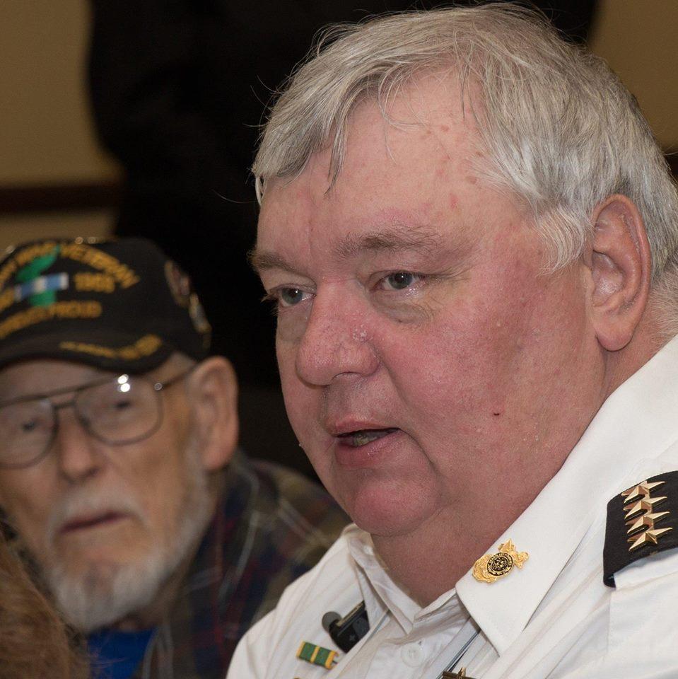 R12 Chaplain Admiral Jeffery Higdon