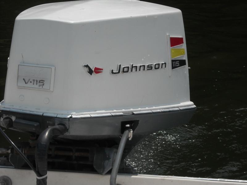 115 hp johnson outboard motor
