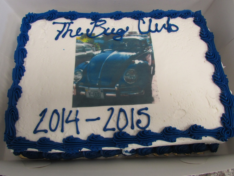 Jason's car is on the cake this year. 2015 Holiday Party