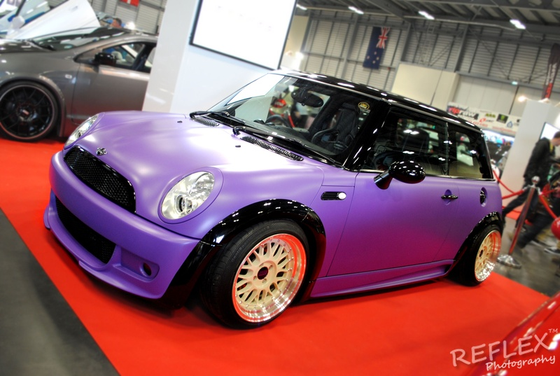 Matt Purple Mini