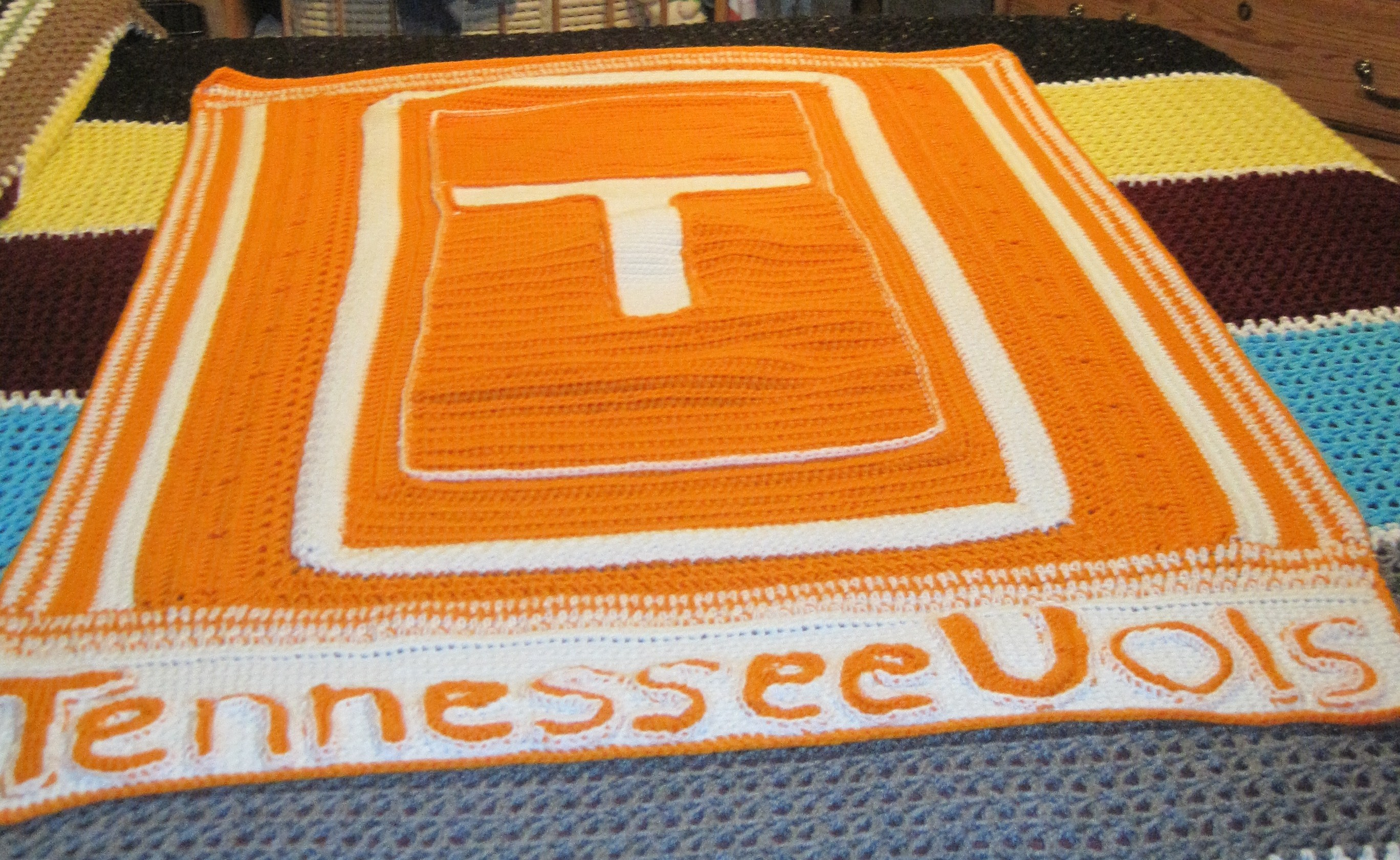 Tennessee vols crochet a trunk full o fun tennessee vols bankloansurffo Images