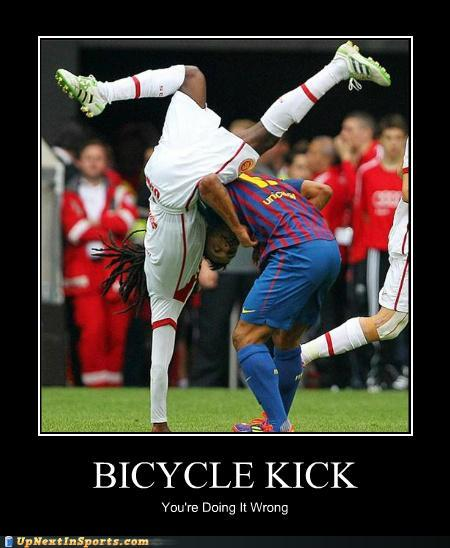 funny soccer fails Photo
