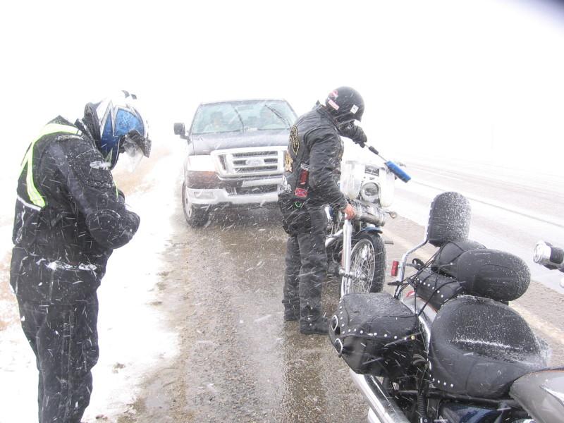 When in Alberta, bring the snow brush!!!!!