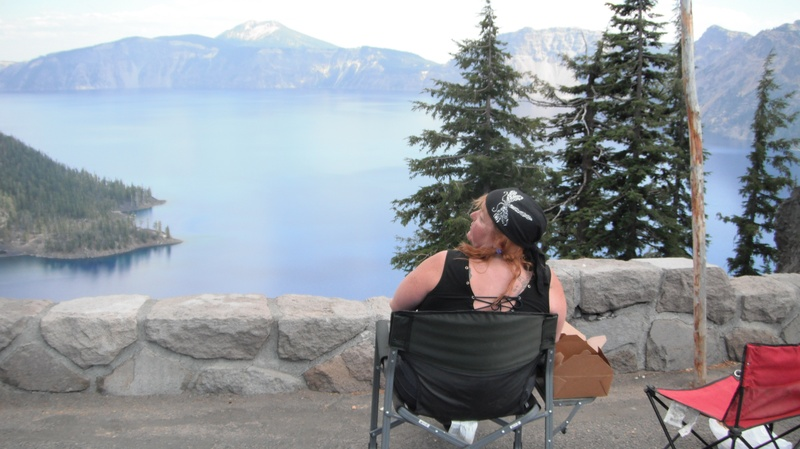 Picnic at Crater Lake