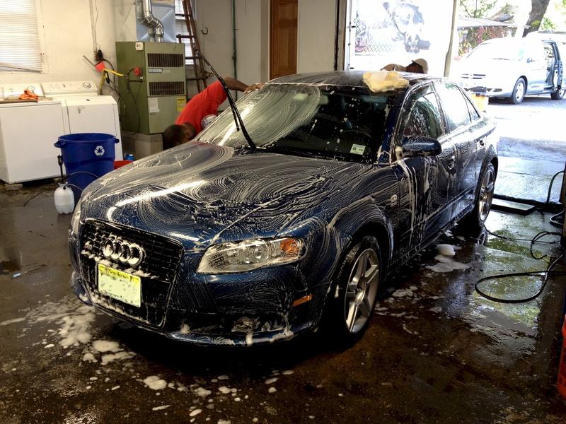 First Wash