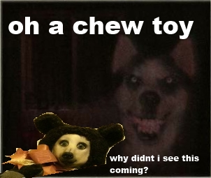 What happened to that creepy teddy
