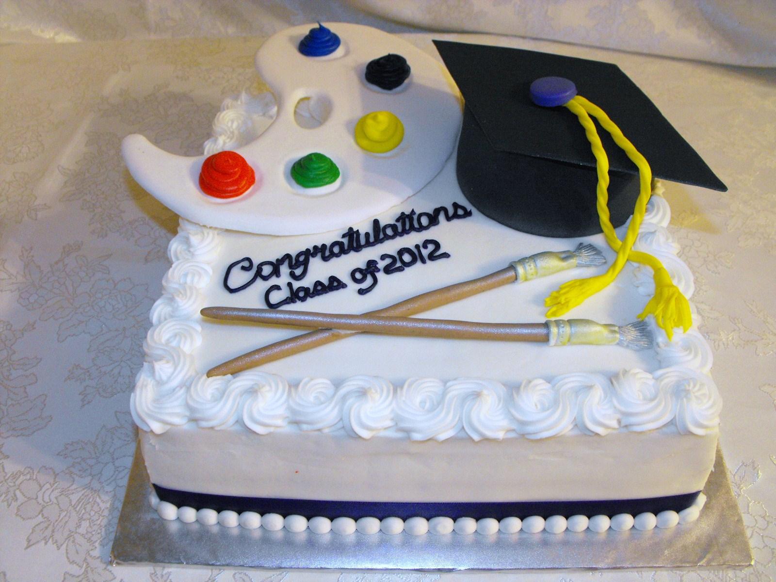 Artist Cake Decoration : Graduation