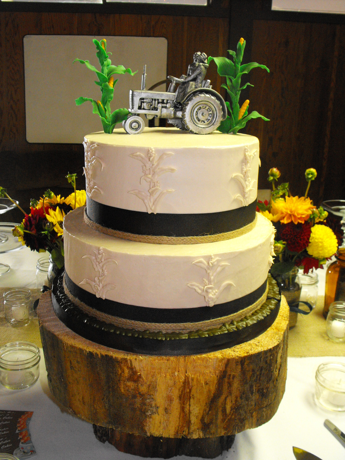 fall country style wedding cake natalia 39 s cakes