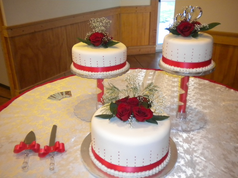 wedding cakes in red ribbon ribbon wedding cake s cakes 24756