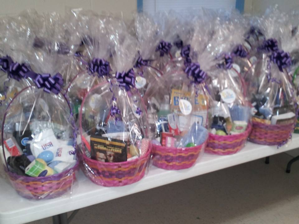Baskets Completed.